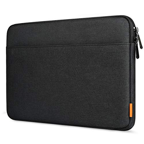 Inateck Laptop Sleeve Case Compatible 13 Inch New MacBook Pro 2016-2020 Retina A2251 A2289 A2159 A1989 A1706 A1708/MacBook Air A2179 A1932/12.3 Inch Surface Pro X/7/6/5/4/3 - Black