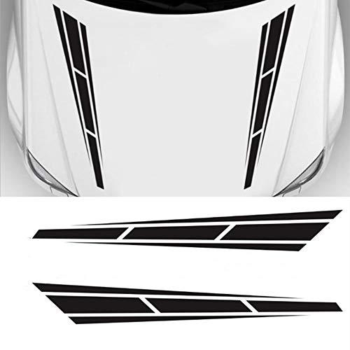 LANZMYAN Universal Hood Decal Sticker DBS001 Car Hood Racing Body Side Vinyl...