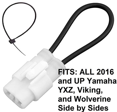 Seat Belt Bypass FITS: ALL 2016 and Newer Yamaha YXZ 1000R, Viking, Wolverine ALL MODELS VI X2 SS Harness Override Switch Connector Jumper Plug Clip Accessories Over Ride By-Pass 2018 2019 2020