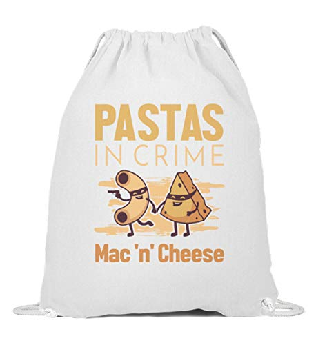Käse Makkaroni Mac N Cheese Käse Turnbeutel | Pastas in Crime Gymsac
