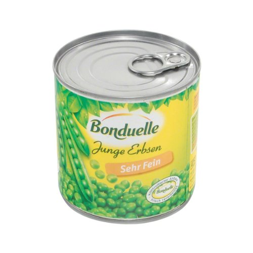 Bonduelle - Junge Erbsen sehr fein - 400g/280g
