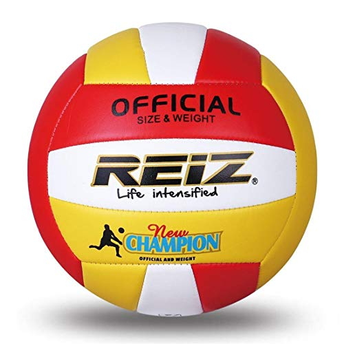 Generic Brands Reiz - Pelota de voleibol de playa (tacto suave, tamaño 5, para actividades al aire libre)