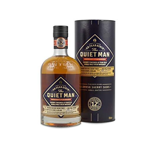 the Quiet Man 12 yo single malt sherry Finish - 700 ml
