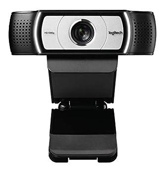 Logitech C930e 1080P HD Video Webcam - 90-Degree Extended View Microsoft Lync 2013 and Skype Certified - Black