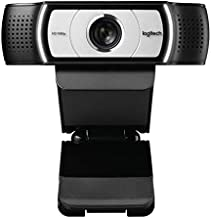 Logitech C930e 1080P HD Video Webcam - 90-Degree Extended View, Microsoft Lync 2013 and Skype Certified - Black