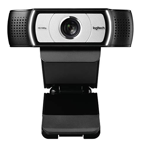 Logitech C930e 1080P HD Video Webcam - 90-Degree Extended View, Microsoft Lync 2013 and Skype Certified - Black