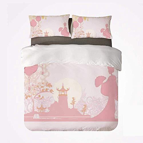 Linterna Varias linternas chinas de estilo japonés vintage con estampado romántico de...