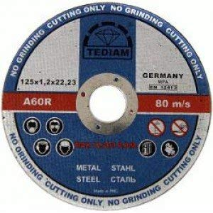 Premium Pack de 10 sierras circulares ultra finas (12,7 cm) 125 mm x 1,2 mm, acero inoxidable, discos de corte de metal