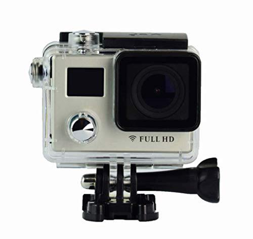 Zwq&zj 4K afstandsbediening dual sport camera, 2.0 HD camera DV antenne wifi waterdicht 170 actiecamera groothoek