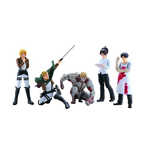 Attack On Titan Series 4 Capsule Toys Mini Figur (1 Random)