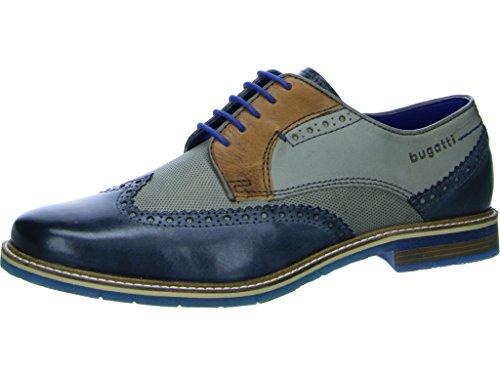 bugatti Herren 312259041111 Derbys, Blau, 44 EU