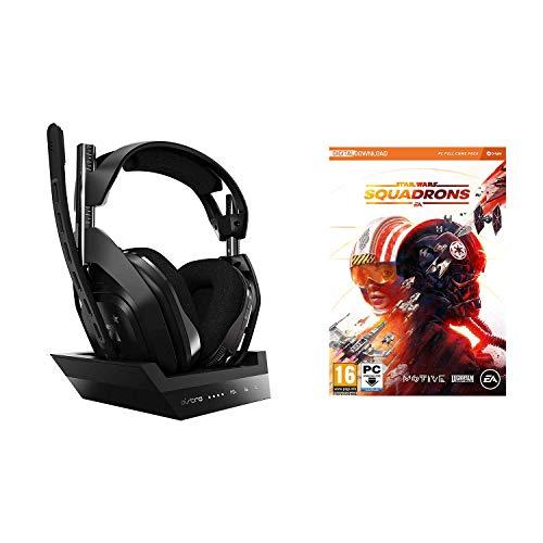 ASTRO Gaming A50 Auriculares inalámbricos para Gaming y estación-Base de...