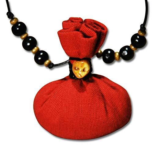 Voodoo Ouanga - Liebe - Voodoo Amulett mit Lederband - Mojo Bag