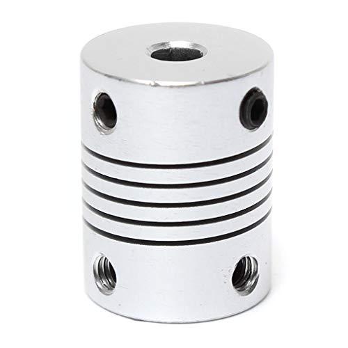 Yongse 4 mm x 5 mm aluminium flexibele koppeling OD19 mm x L 25 mm CNC stepper motor koppeling aansluiting