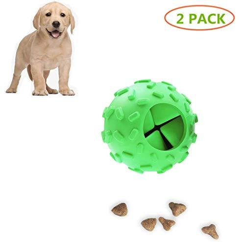AZUOYI Hundeball Mit Zahnpflege-Funktion Noppen Hundespielzeug Aus Naturkautschuk - Robuster Hunde Ball, Hundespielball Für Große & Kleine Hunde - Kauspielzeug Aus Naturgummi Für Leckerli,B