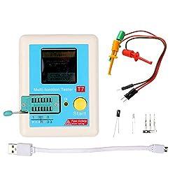 LCR-t7 Transistor Tester TFT Diode Triode Capacitance Tester ESR Tester NPN PNP MOSFET IR Multifunction Tester Multimeter