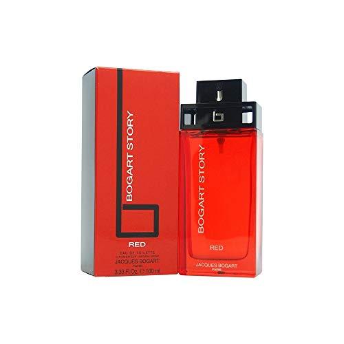 Jacques Bogart Bogart Story Red Jacques Bogart-Parfum, Herren, Eau de Toilette, 100 ml, MREE-289