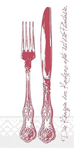 Mank Servietten aus Tissue 40 cm x 40 cm | 1/8 Falz Kaffee Serviette | hochwertige Einmal-Serviette |125 Stück | Heidelberg (Champagner-Bordeaux)