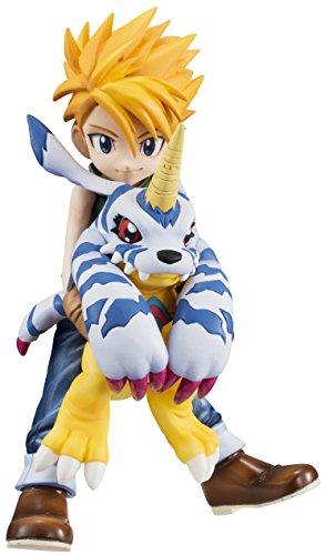 Digimon Adventure G.E.M. Series Ishida Yamato & Gabumon 1/10 Scale PVC Figure