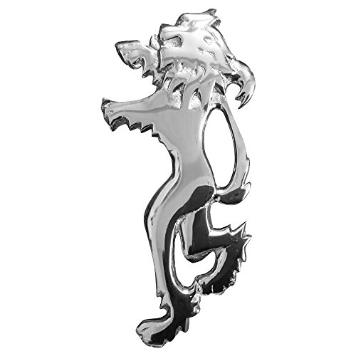 "Tartan City Broche Écossaise Kilt Lion Rampant Finition Chrome 4""/Lion Rampant Kilt Broches Métal/Highland Kilt Broches"