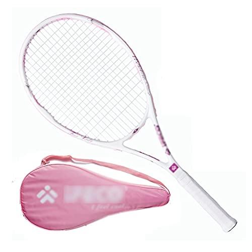 Raquetas De Tenis Individual Tenis para Principiantes Cuerda Tenis All Carbon One Dedicada (Color : Pink, Size : 69cm)