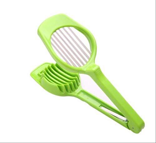 WINTER Eierschneider 1 Stück Eierschneider Shredder Shredder Shredder Pilz Shredder Multifunktions-Kochgerät Gadget Küchenzubehör Grün