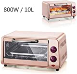 LLDKA Microondas Horno eléctrico automático hornillo para cocinar el Control del hogar 800W 220V 10L