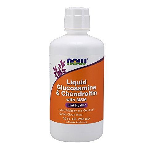 Flüssiges Glucosamin & Chondroitin, mit MSM, Zitrus, 32 fl oz (946 ml): Für gesunde Gelenke
