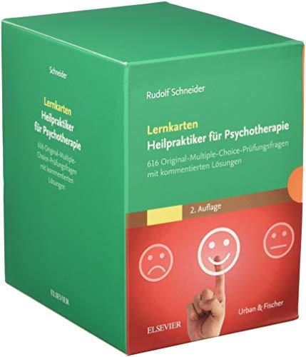Lernkarten Heilpraktiker für Psychotherapie: 616 Original-Multiple-Choice-Prüfungsfragen mit kommentierten Lösungen