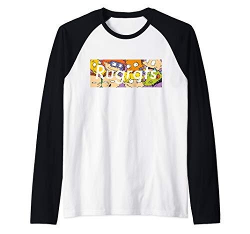 Rugrats Supreme Box Logo With Characters Raglan Baseball Tee