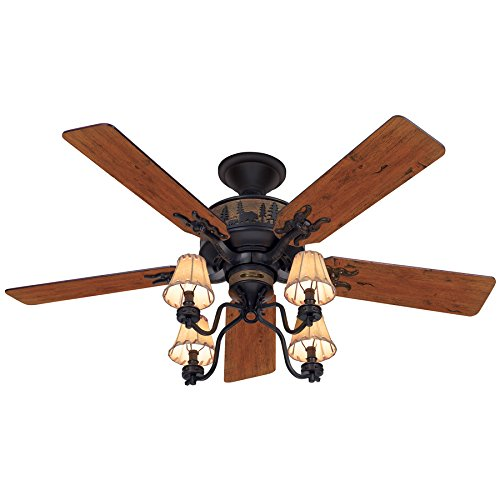 Hunter Adirondack 52' Ceiling Fan - Model 59006