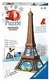 Ravensburger - Puzzle 3D (54 Piezas, a Partir de 8 años), diseño de la Torre Eiffel