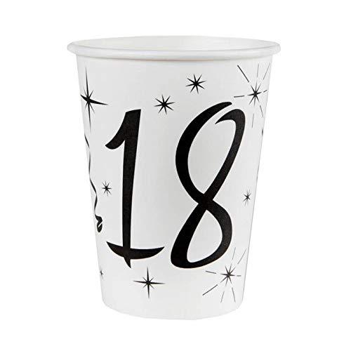 Chal - 20 Gobelets anniversaire 18 ans
