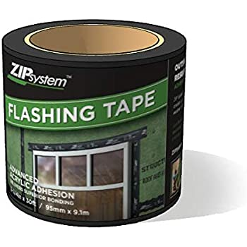 Huber ZIP System Flashing Tape | 3.75 inches x 30 feet | Self-Adhesive Flashing for Doors-Windows Rough Openings