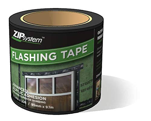 Huber ZIP System Flashing Tape   3.75 inches x 30 feet   Self-Adhesive Flashing for Doors-Windows Rough Openings