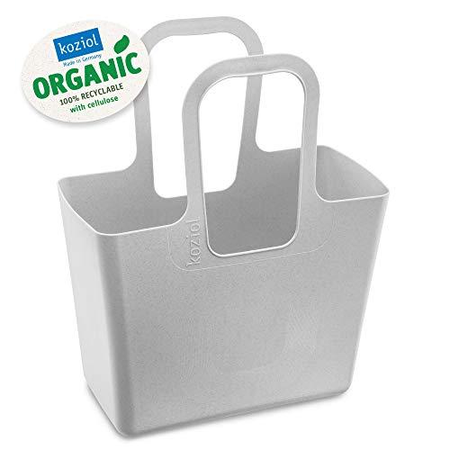 koziol Tasche, thermoplastischer Kunststoff, organic grey, XL