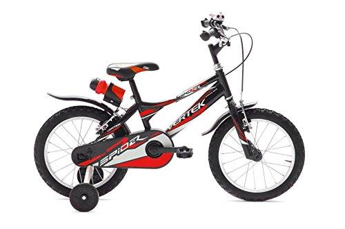 VERTEK Bici Bimbo 12'' Spider Nero Rosso (Bambino) / Bike Boy 12'' Spider Black Red (Kid)