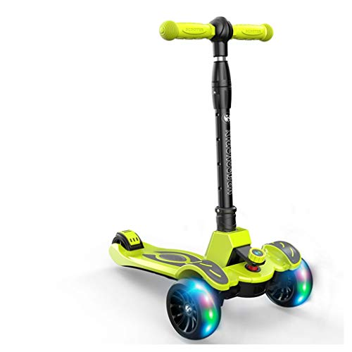 Find Bargain Kick Scooters Children's Scooter 1-12 Years Old Child yo-yo Small Partner Flash Four Ro...