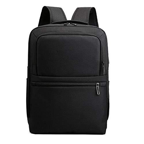 Rucksack Neuer Herrenrucksack Wasserdichter Rucksack USB Aufladen Mehrschichtige Schultasche Für Männer RFID-Futter Reiserucksack Business Women Black