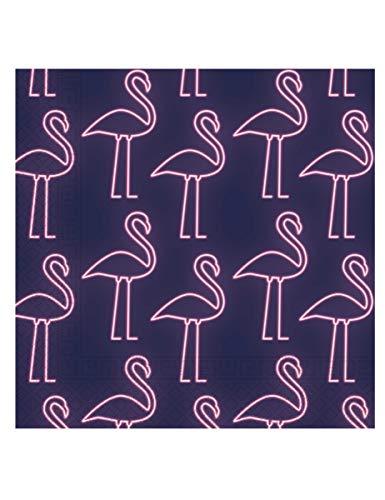 Servietten Neon Flamingo, Einhorn, Unicorn, EIS , 20 Stück