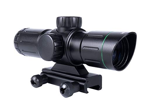 Best Deals! Monstrum 3x30 Ultra-Compact Rifle Scope with Illuminated Range Finder Reticle