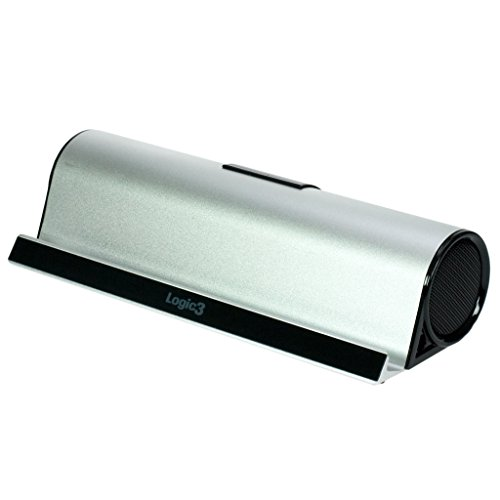 Logic3 i-Station Bluetooth3 Altavoz portátil estéreo 6W Plata - Altavoces portátiles (2.0 Canales, 6 W, Inalámbrico y alámbrico, A2DP, 10 m, Altavoz portátil estéreo)