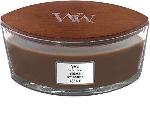 Woodwick Bougie parfum/ée Ellipse Parfum Humidor