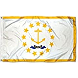 Sports Flags Pennants Company State of Rhode Island Flag 3x5 Foot Banner