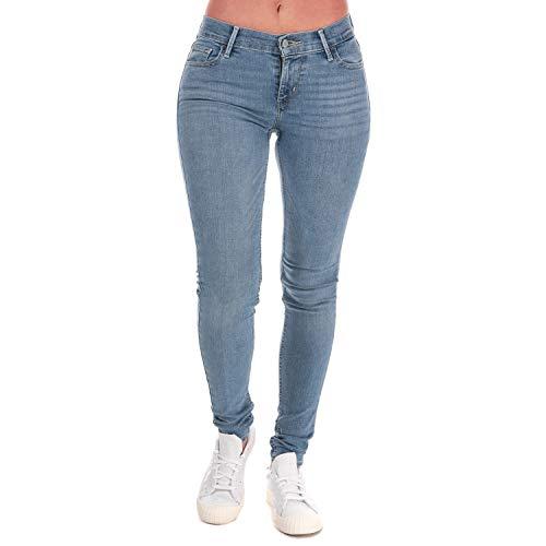 Levi's ® 710 Innovation Super Skinny W Jeans Piloot Blauw