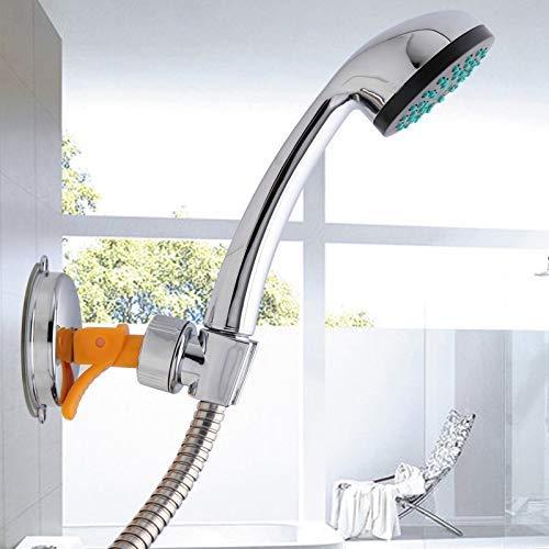 WEI-LUONG Alcachofa Ventosa Soporte de Ducha extraíble for Montaje en Pared de baño Ducha orientable Soporte pulverizador Ducha