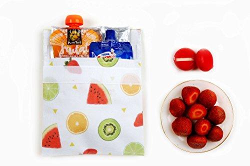 Koala Internacional Hosteleria Porta-Alimentos refrigerado por Gel, Tela, multicloro, 18x3x18 cm