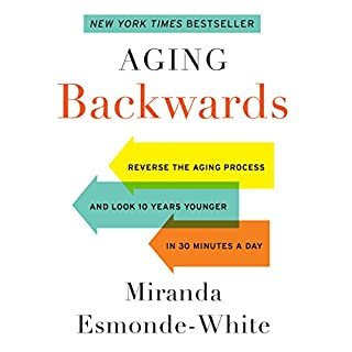 Aging Backwards audiobook cover art