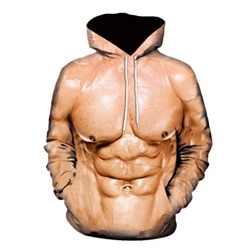Komise Unisex Holiday Hoodie unhöflich Hirsch Party Kostüm 3D Offensive Boobs gedruckt