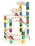 Hape- Pista di Biglie in Legno Gioco, Multicolore, E6008